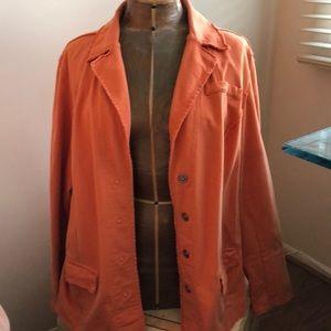 Calvin Klein orange blazer